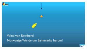 <b>Strategie und Taktik: Vorwind 1 Annäherung Luvmarke</b>