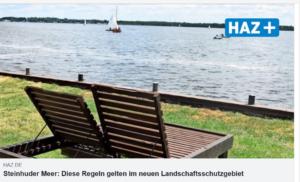 <b>Steinhuder Meer - neues Landschaftsschutzgebiet</b>
