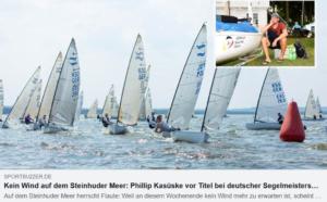 <b>Finn IDM 2020 - Lemmel bei Wettfahrtleitung angeschwärzt</b>