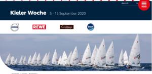 <b>Kieler Woche 2020 - 5-13. Sept. 2020 - Results</b>