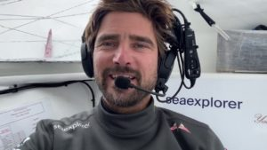 Vendee Globe 2020-11-30    Was ist mit Sam Davies los ?