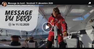 Vendee Globe 2020-12-11 - Isabelle  im Rennmodus - Boris im Schlafmodus