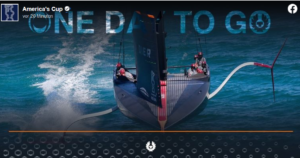 America's Cup - One Day To Go