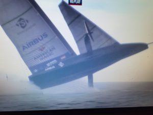 Prada Cup - American Magic im Rennen gegen Prada gekentert