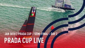 AC - Semi-Finale Race 3 + 4  - Patriot  verliert 2 x gegen Luna Rossa
