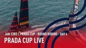America's Cup - Jan. 23. -  Day 4 - Live