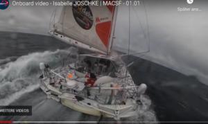 Vendee Globe 2021  Isabelle Joschke - tolles Onboard-Video