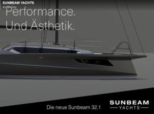 Die neue SUNBEAM 32.1  -  Frischer Wind. Neu gedacht.