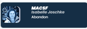 Vendee Globe 2021-01-10    Isabelle Joschke - Abandon