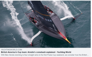 British America's Cup team: Ainslie's comeback explained