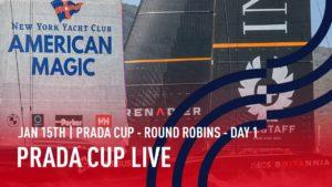 Prada America's Cup - live