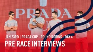 PRADA Cup Day 4 Pre Race Interviews