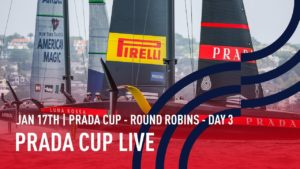 🔴 PRADA Cup LIVE | Round Robins Day 3