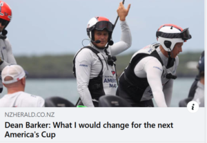 Dean Barker - What I would change for the next regatta