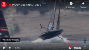 🔴 PRADA Cup FINAL | Day 2 - Ainslie verliert beide Starts und Rennen