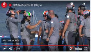 PRADA Cup FINAL | Day 4 - Sir Ben verliert beide Rennen und ist ausgeschieden !