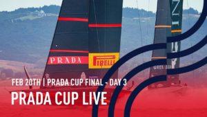 PRADA Cup FINAL | Day 3