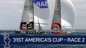 31st America's Cup - Race 2 -  SUI vs. NZL