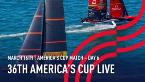 36th America's Cup 🔴 Kiwis win Race 9 - No further racing today