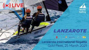 49er - 490FX -  Nacra 17 - Lanzarote International Regatta 2021 - Goldfleet + Medal Races