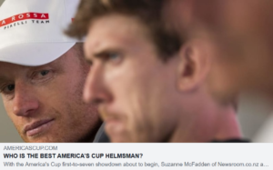 WHO IS THE BEST AMERICA'S CUP HELMSMAN ?