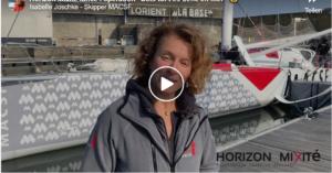Isabelle Joschke - Skipper MACSF - Initiative zum Tag der Frau