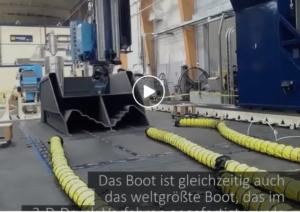 Boot aus dem 3D-Drucker