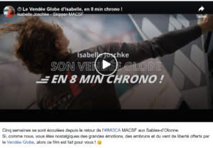 Isabelle Joschke - 8 min Film - Vende Globe 2020
