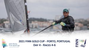 2021 Finn Gold Cup - Day 4 - Races 4-6