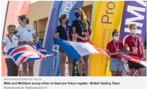 7 May - 2021 470 European Championship, Vilamoura, POR - Results