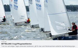 Steinhuder Meer - Pfingstwettfahrten 2021