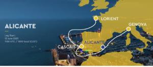 The Ocean race Europe 2021 - Alicante - Leg 3 Start - 13 Juni - 13:00