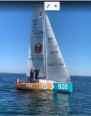 Mini Calvados CUP 2021 - Melwin Fink wird 6.  - Lina Rixgens 12.