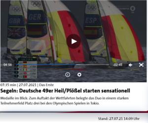 Olympia 2021 - tolles Video von Heil  / Plössel  - WF1