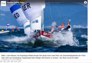 Olympia 2021 - Luise Wanser und Anastasiya Winkel disqualifiziert - Update - DSQ entgültig