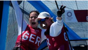 Olympia 2021 - die 49er Medal-Races