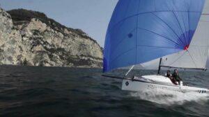Seascape 18 - damit segelt Susann Beucke beim Silverrudder 2021