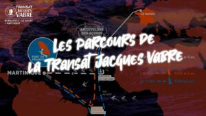 Parcours de la Transat Jacques Vabre 2021 !